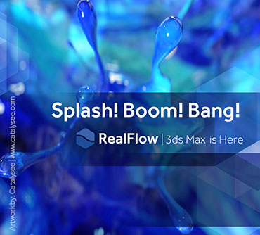 MAXWELL Realflow 3DS MAX