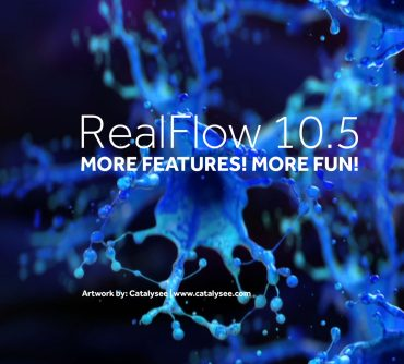 MAXWELL Realflow 10.5