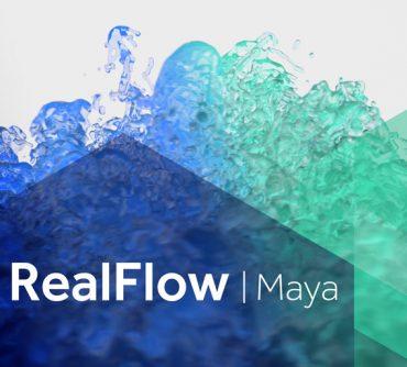 MAXWELL Realflow MAYA