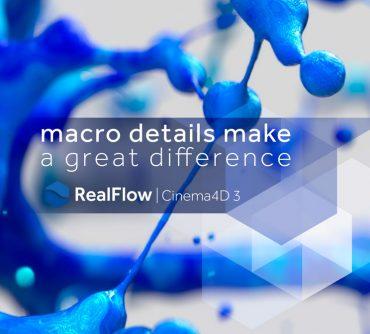 MAXWELL Realflow Cinema 4D